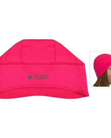 Reflexní běžecká čepice M/L růžová