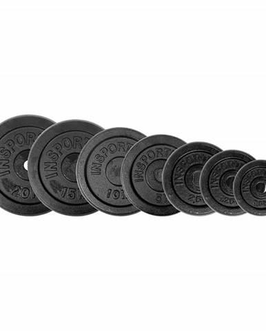 Sada oceľových kotúčov inSPORTline 2x 0,5-20 kg