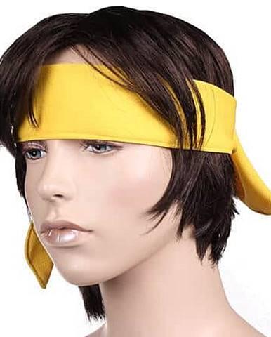 Active sportovní čelenka žlutá