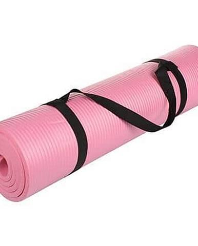 NBR Comfort 0.8 karimatka na cvičení, bez otvorů růžová