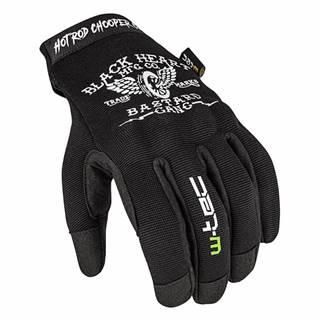 Moto rukavice W-TEC Black Heart Renogade Farba čierna, Veľkosť M