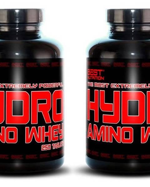 Best Nutrition 1+1 Zadarmo: Hydro Amino Whey od Best Nutrition 250 tbl. + 250 tbl.