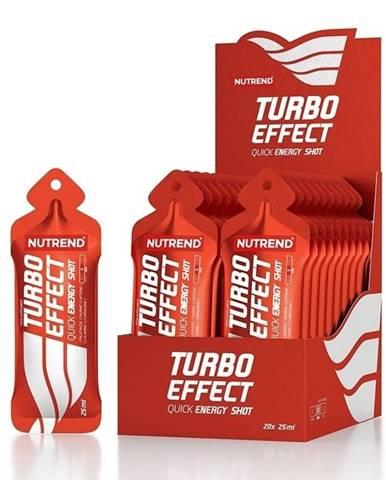 Turbo Effect - Nutrend 20 x 25 ml. sáčok