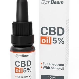 CBD Oil 5% - GymBeam 10 ml. Natural