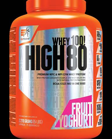 Extrifit High Whey 80 2270 g fruit yoghurt