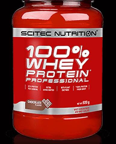 Scitec Nutrition 100% Whey Protein Professional 920 g chocolate