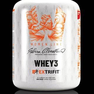 Extrifit Whey 3 2000 g strawberry shake