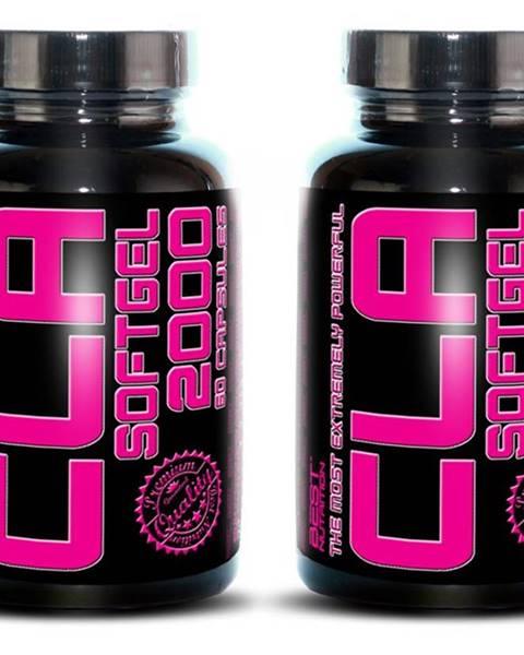 Best Nutrition 1+1 Zadarmo: CLA 2000 od Best Nutrition 60 kaps. + 60 kaps.