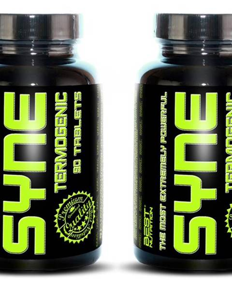 Best Nutrition 1+1 Zadarmo: Syne Thermogenic Fat Burner od Best Nutrition 90 tbl. + 90 tbl.