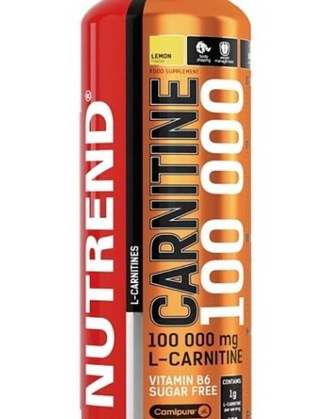 Nutrend Carnitine 100 000 - Nutrend 1000 ml. Citrón