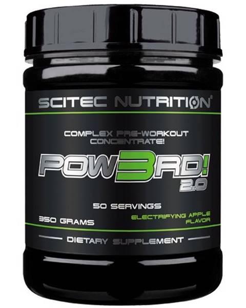 Scitec Nutrition Pow3rd! 2.0 - Scitec Nutrition 350 g Jablko