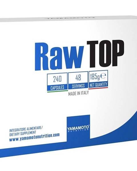 Yamamoto Raw Top (až 21 prísad vrátane botanických výťažkov) - Yamamoto  240 kaps.