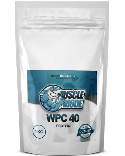 Muscle Mode WPC 40 Protein od Muscle Mode 1000 g Neutrál