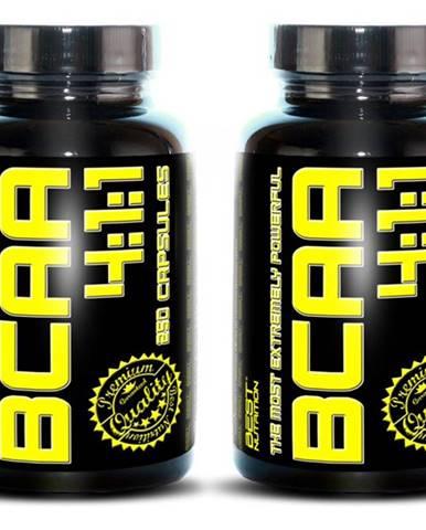 1+1 Zadarmo: BCAA 4:1:1 od Best Nutrition 120 kaps. +  120 kaps.