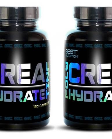 1+1 Zadarmo: Polyhydrate Creatine od Best Nutrition 120 kaps. + 120 kaps.