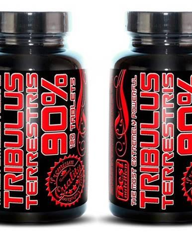 1+1 Zadarmo: Tribulus Terrestris 90% od Best Nutrition 120 tbl. + 120 tbl.