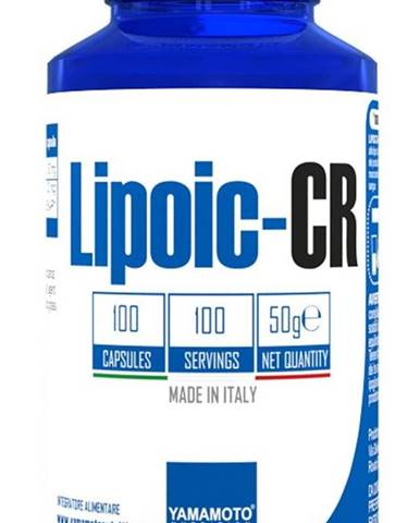 Lipoic-CR (kyselina alfa-lipoová ALA + chróm) - Yamamoto  100 kaps.