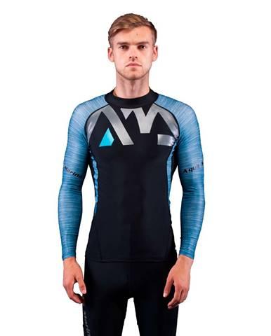 Pánske tričko pre vodné športy Aqua Marina Division modrá - S