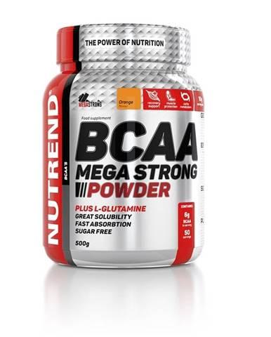 Práškový koncentrát Nutrend BCAA Mega Strong Powder 500 g pomaranč
