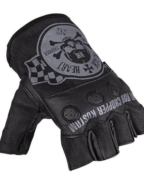W-Tec Moto rukavice na chopper W-TEC Black Heart Wipplar čierna - XS