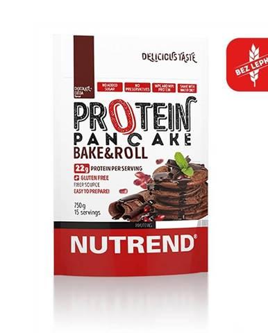 Proteinové palacinky Nutrend Protein Pancake 750g čokoláda-kakao