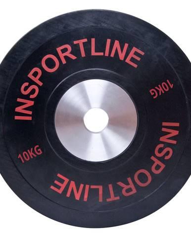 Gumový kotúč inSPORTline Bumper Plate 10 kg