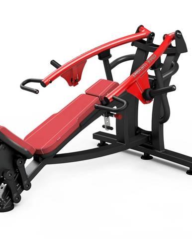 Posilňovací stroj - šikmé tlaky na prsia Marbo Sport MF-U004 červená