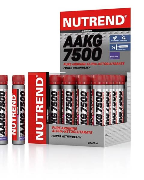 Nutrend Aminokyseliny Nutrend AAKG 7500 20 x 25 ml