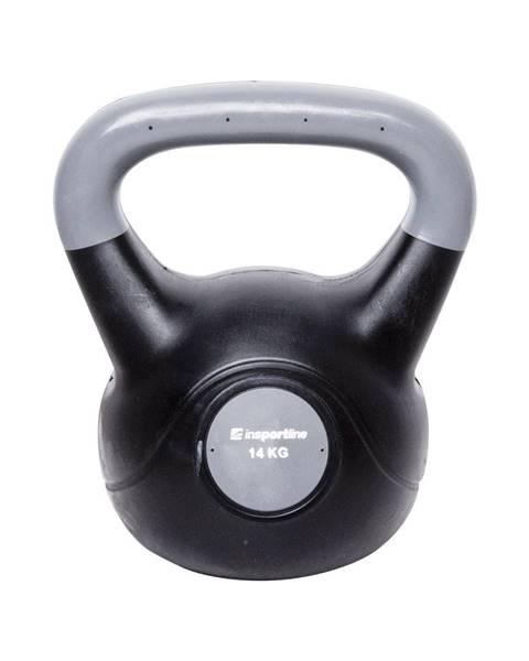 Insportline Činka inSPORTline Vin-Bell Dark 14 kg