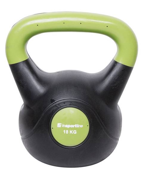 Insportline Činka inSPORTline Vin-Bell Dark 18 kg