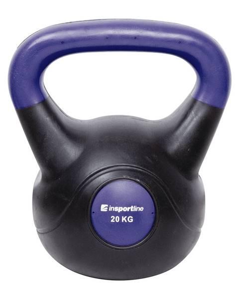 Insportline Činka inSPORTline Vin-Bell Dark 20 kg