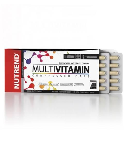 Nutrend Vitamíny Nutrend Multivitamin Compressed Caps 60 kapsúl