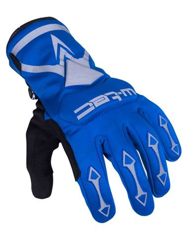 Cyklo a moto rukavice W-TEC Belter B-6044 modrá - XS