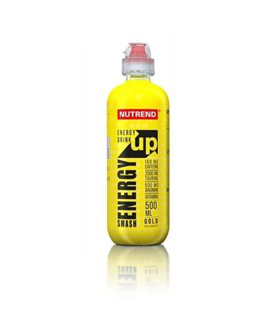 Energetický nápoj Nutrend Smash Energy Up 500 ml gold