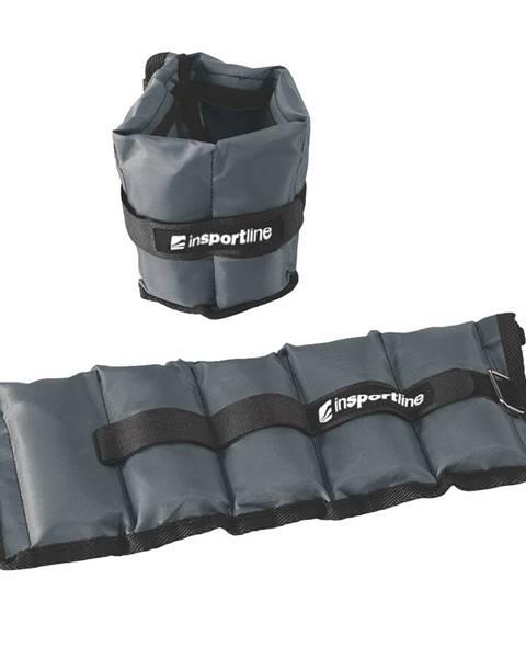 Insportline Nastaviteľné závažie na členok/zápästie inSPORTline GrayWeight 2x1 kg