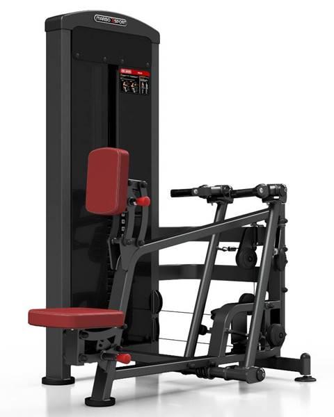 MARBO Posilňovací stroj - príťahy v sede Marbo Sport MP-U229 červená