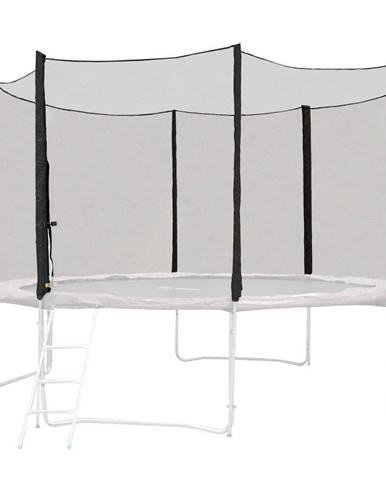 Ochranná sieť pre trampolínu inSPORTline Froggy PRO 430 cm čierna