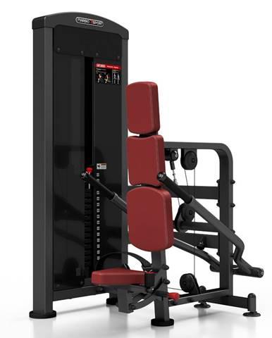 Posilňovací stroj - triceps so závažím Marbo Sport MP-U233 červená