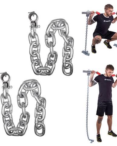 Vzpieračské reťaze inSPORTline Chainbos 2x25 kg