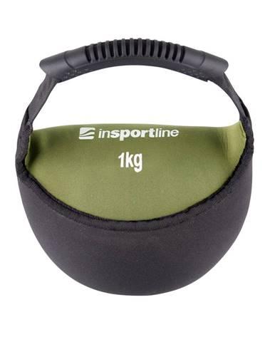 Neoprénová činka inSPORTline Bell-bag 1kg