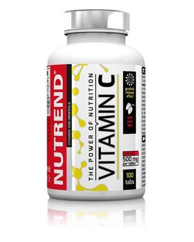 Tabletky Nutrend Vitamín C so šípkami, 100 tabliet