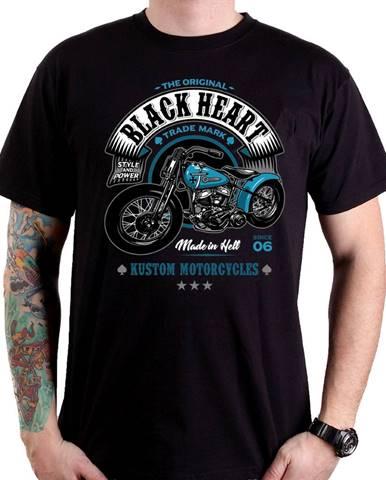 Tričko BLACK HEART Style and Power čierna - M