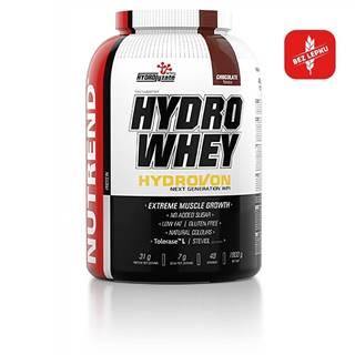 Izolát natívnej srvátkovej bielkoviny Nutrend Hydro Whey 1600g čokoláda