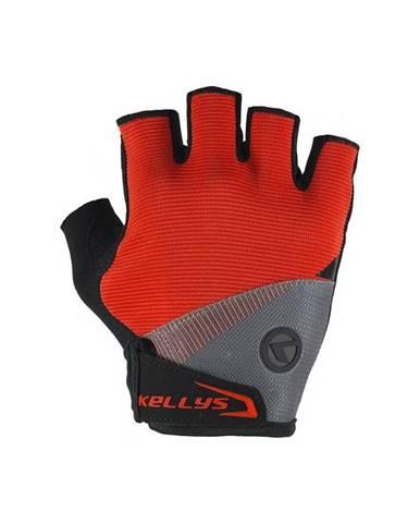 Cyklo rukavice KELLYS COMFORT červená - XS
