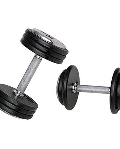 Jednoručná činka inSPORTline ProfiST 47,5 kg