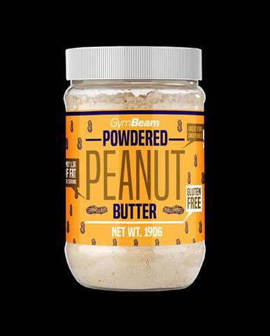 GymBeam Práškové arašidové maslo 190 g