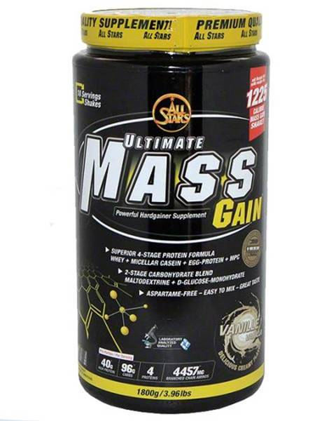 All-Stars Ultimate Mass Gain - VÝPREDAJ 1800g Vanilka