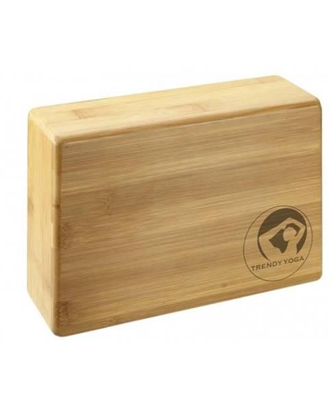 TRENDY Yoga kostka - Bambus