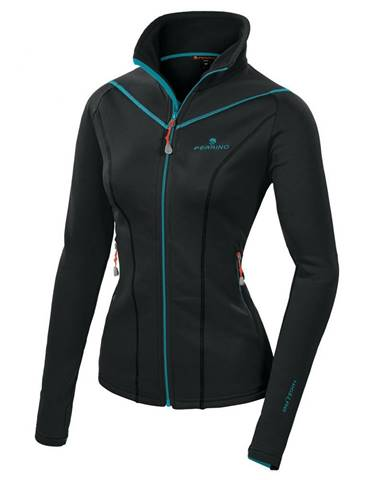Dámska mikina Ferrino Tailly Jacket Woman New Black - XS