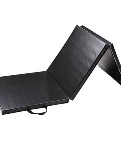 Žíněnka skládací třídílná SEDCO 183x60x4 cm - Černá